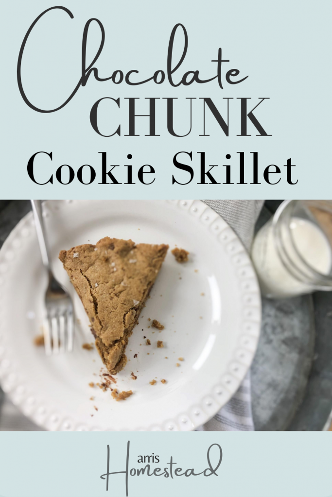 Chocolate Chunk Cookie Skillet