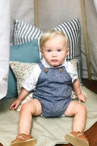 Baby Overalls Without a Pattern
