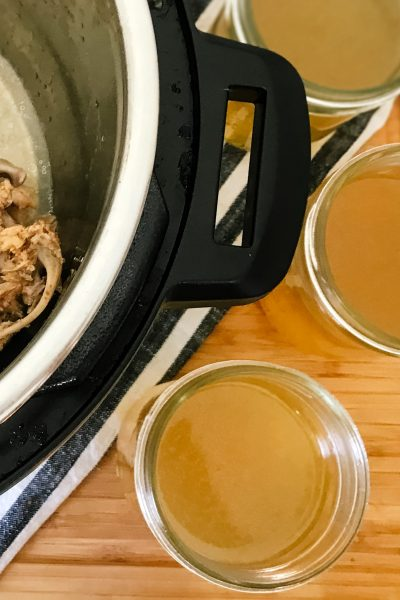 Homemade Bone Broth in the Instant Pot