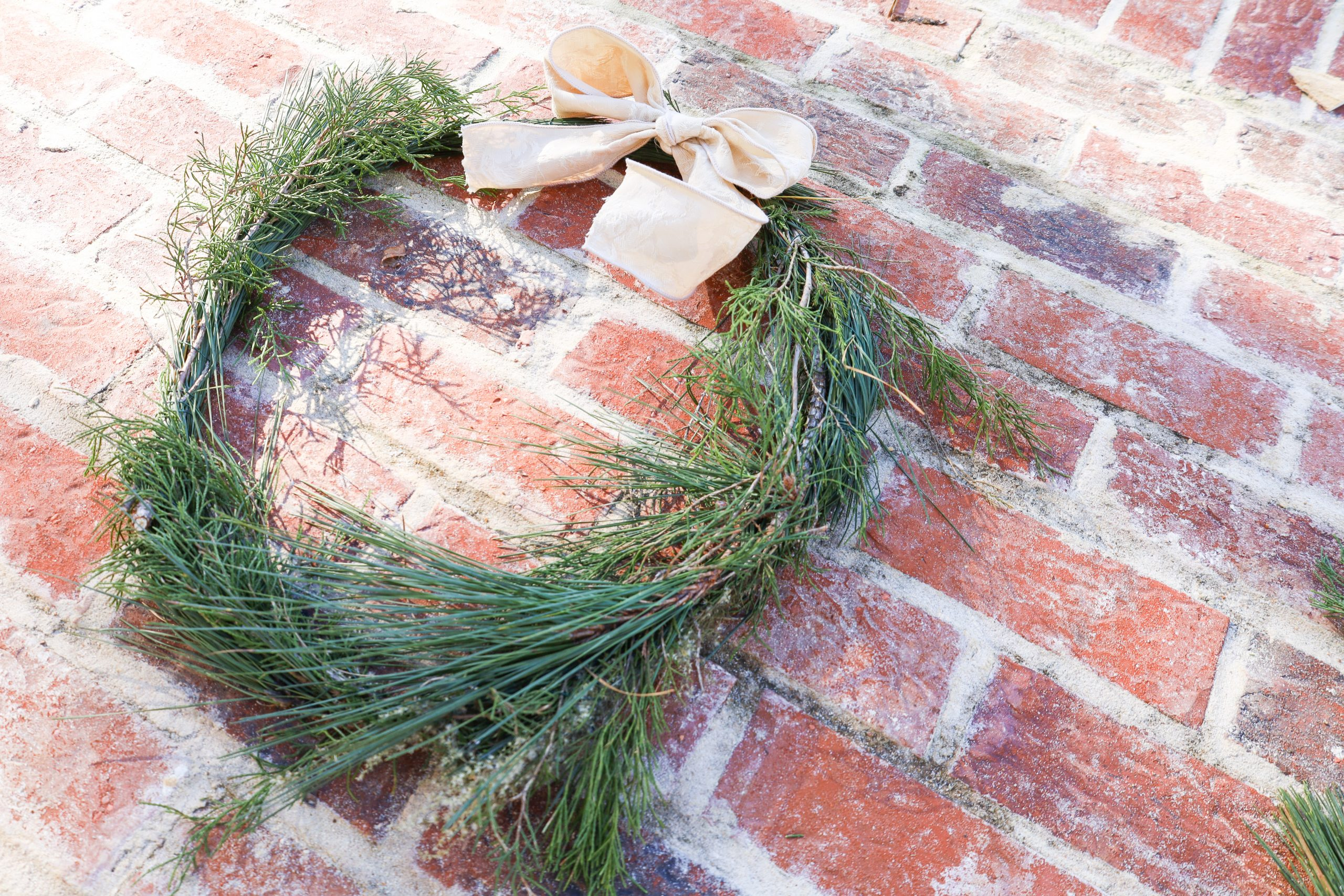 How To Make an Evergreen Wreath