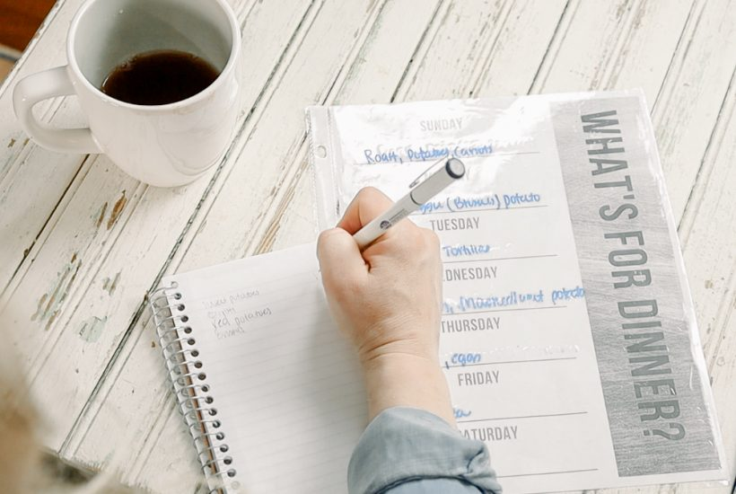 Five Tips for Meal Planning Made Easy